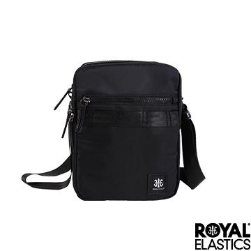 (Royal Elastics)Royal Elastics - Knight Diablo series vertical cross body bag - black
