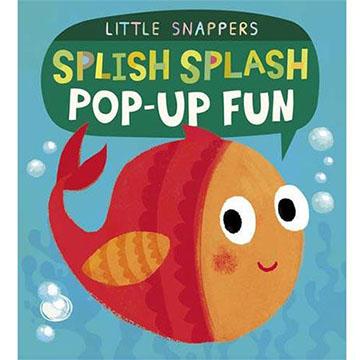(Caterpillar Books)Splish Splash Pop-Up Fun 落水撲通撲通 厚紙立體書(外文書)