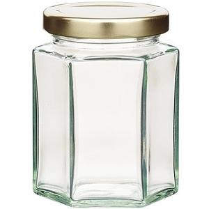 (KitchenCraft)KitchenCraft hexagonal cap sealed cans (227ml)