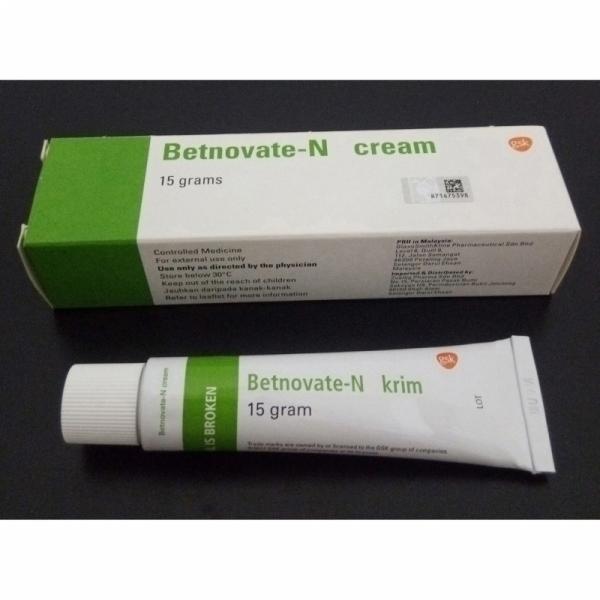 Betnovate-N Cream 15g, Betnovate With Antibiotic Neomycin Sulphate