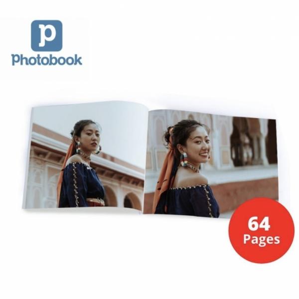 "8"" x 6"" Small Landscape Softcover Photobook, 64 pages [e-Voucher] Photobook"