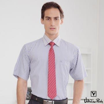 (Valentino Rudy). Valentino Rudy Valentino Di Road, short-sleeved shirt - dark blue straight