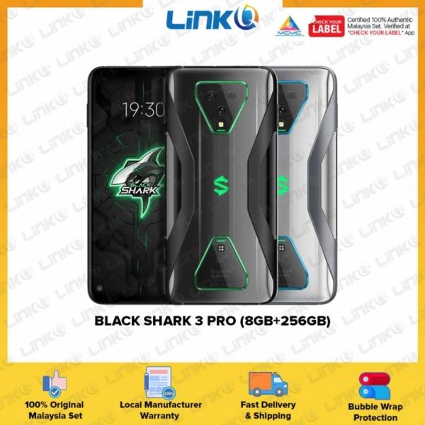 Black Shark 3 Pro 5G (8GB RAM + 256GB ROM) Smartphone - Original 1 Year Warranty by Black Shark Malaysia (MY SET)