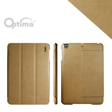(Optima)Optima iPad mini 3 Italian leather multi-angle Case - Cellusoft Series - Khaki