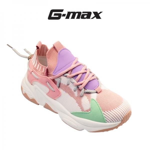 G-Max Women Platform Sneakers - Pink / Light Grey 611
