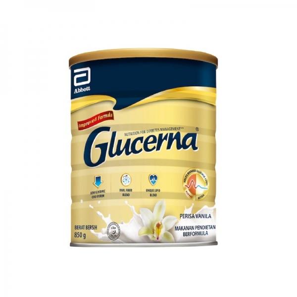 Abbott Glucerna Vanilla (850g) EXP: 01/2022