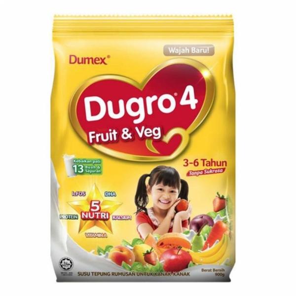 Dumex Dugro 4 Fruits & Veg (850g)