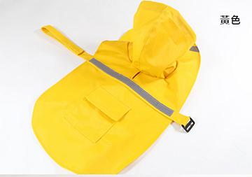 New Pet Casual Dog Raincoat - Yellow - XS
