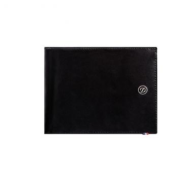 LINE D wallet-8 cards-LINE D leather black
