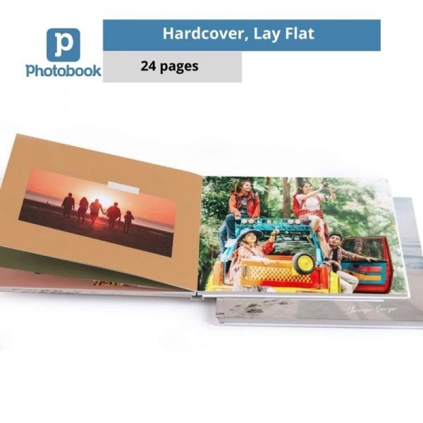 "Landscape Imagewrap Premium Lay Flat Photobook (14"" x 11"") [e-Voucher] Photobook"