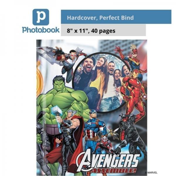 "Photobook Malaysia Portrait Imagewrap Hardcover Photobook (8"" x 11"")"