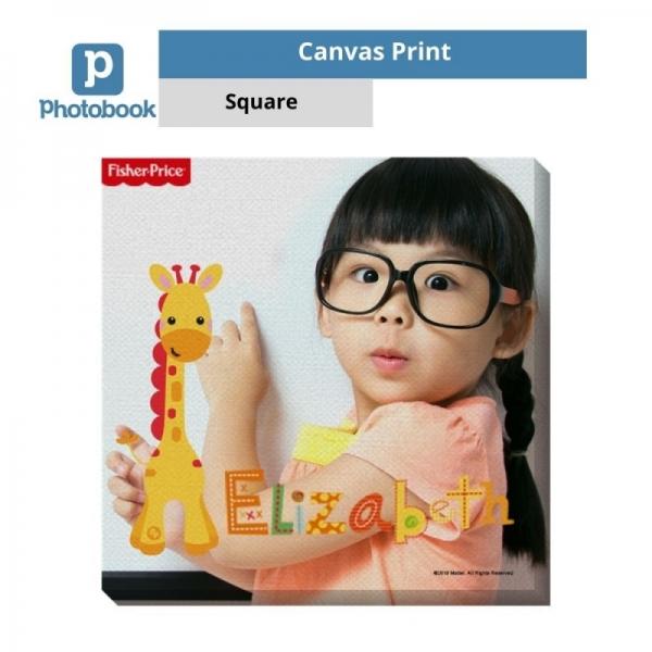 "Photobook Malaysia Canvas Print (8"" x 8"")"