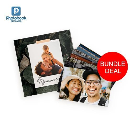 "4R Photo Prints (100 Pcs) [Free 6"" x 6"" Softcover Photobook]"