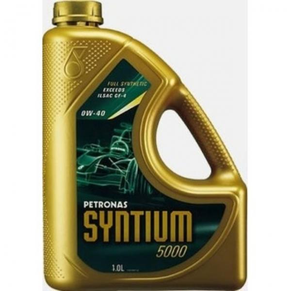 PETRONAS SYNTIUM 5000 SM 0W-40 (FULLY SYNTHETIC) 1LITER