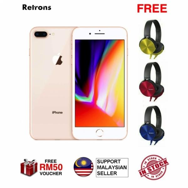 [MYSET + FREE SONY EXTRA BASS HEADSET] Original Premium Malaysia Set iPhone 8 Plus 64GB 256GB Fon Murah iPhone 8+ iFone