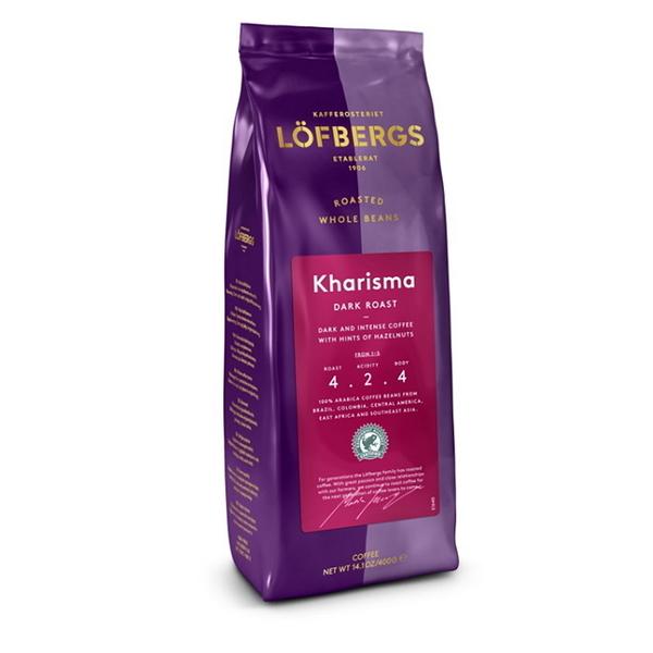 瑞典Lofbergs皇家咖啡豆Kharisma(中深烘焙)(雨林聯盟)400g