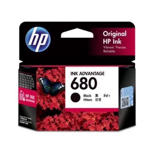 [ORIGINAL] HP 680 BLACK INK / TRI COLOR COLOUR INK