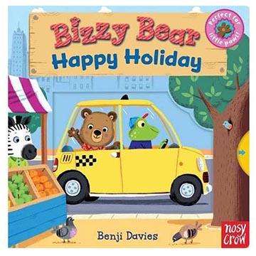 (Nosy Crow)Bizzy Bear:Happy Holiday 愉快的假期熊熊新奇操作書(英國版)(外文書)
