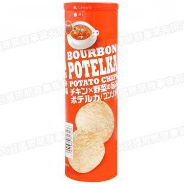 Bourbon North Japan Potato Chips with Chicken Sauce (63g)