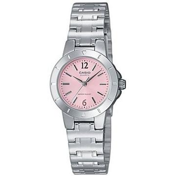 (CASIO)CASIO compact fashion ladies watch - pink
