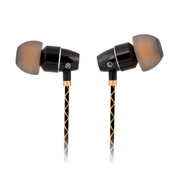 (T.C.STAR)TCSTAR FUN fashion porcelain technology in-ear style earphone microphone / black TCE6020BK