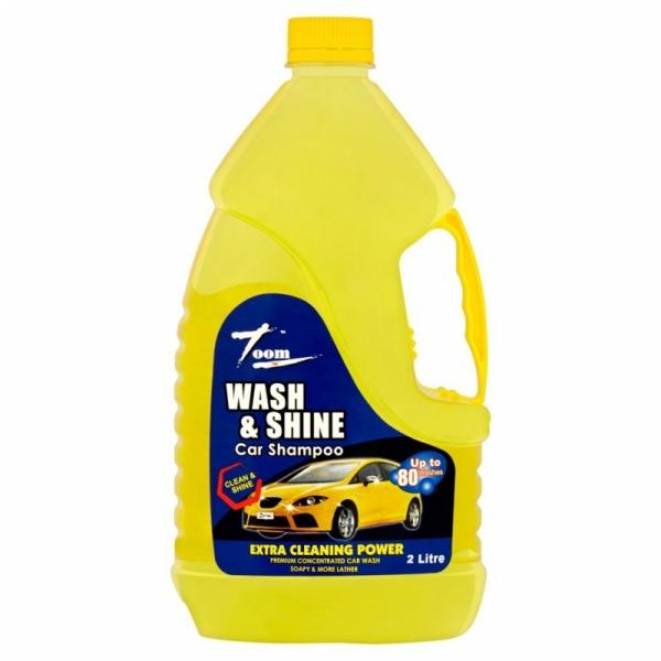 Zoom Wash & Shine Car Shampoo (2L)