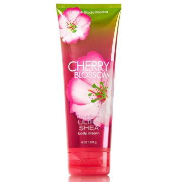 """Bath & Body Works BBW"" fragrance moisturizing body cream [cherry blossoms] Cherry Blossom 226g"