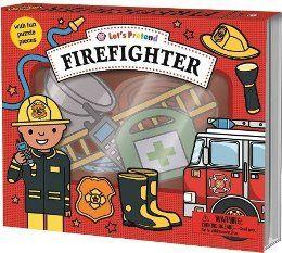 (Macmillan)Lets Pretend: Firefighter Set我們是消防員(厚頁操作遊戲書)(外文書)