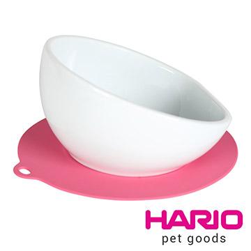 (HARIO)【HARIO】 medium-sized dog dedicated pink ceramic bowl PTS-MA-PC