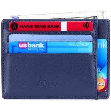 (Kinzd)Kinzd leather anti-theft clip (blue)