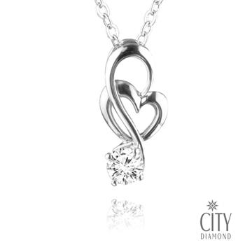 """(City Diamond)City Diamond 引雅 """"月??河"""" K gold necklace _R5335"""