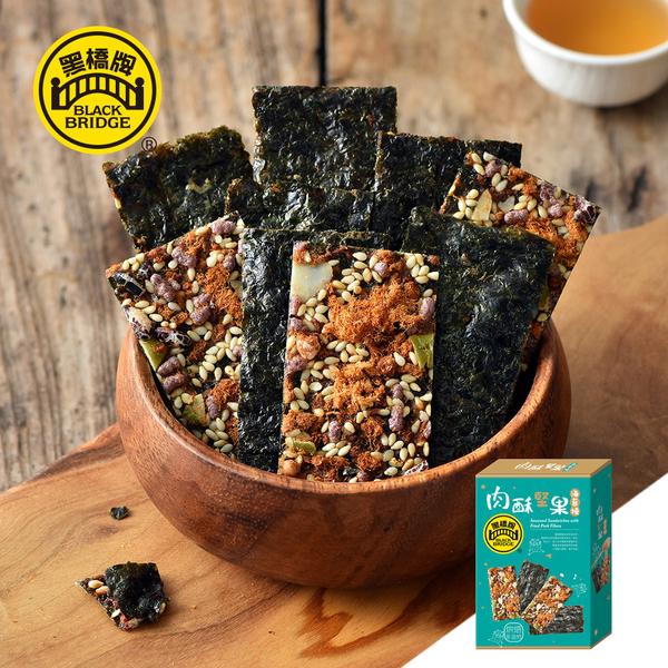 Black seaweed burning bridge Rousu nuts (60g cartridge)
