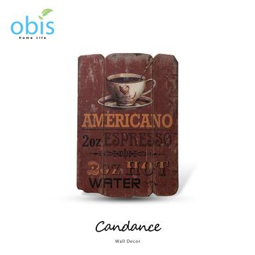 【obis】Candance香濃咖啡復古風字牌