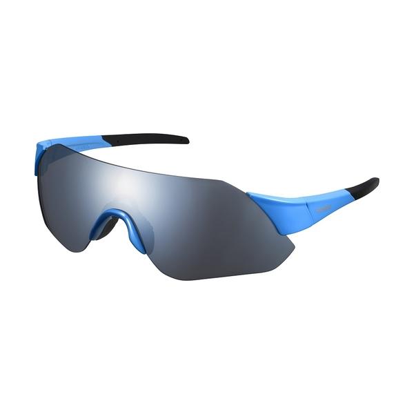 【SHIMANO】AEROLITE MR 一片式太陽眼鏡 藍色