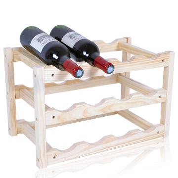 (WASHAMl)Wood wine rack wine cellar