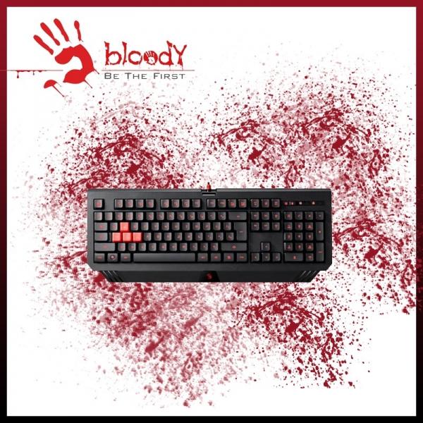 BLOODY Turbo Illuminated Wired Gaming Keyboard B120