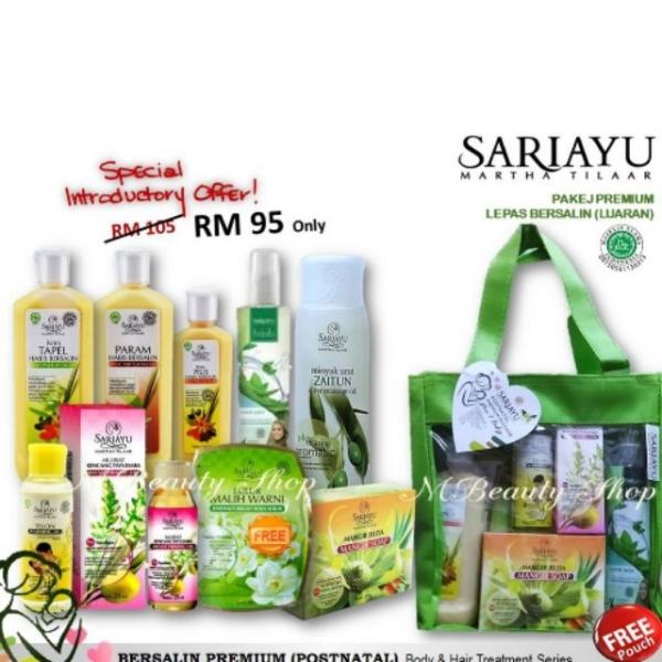Sariayu Postnatal Pakej Lepas Bersalin Ready Stock