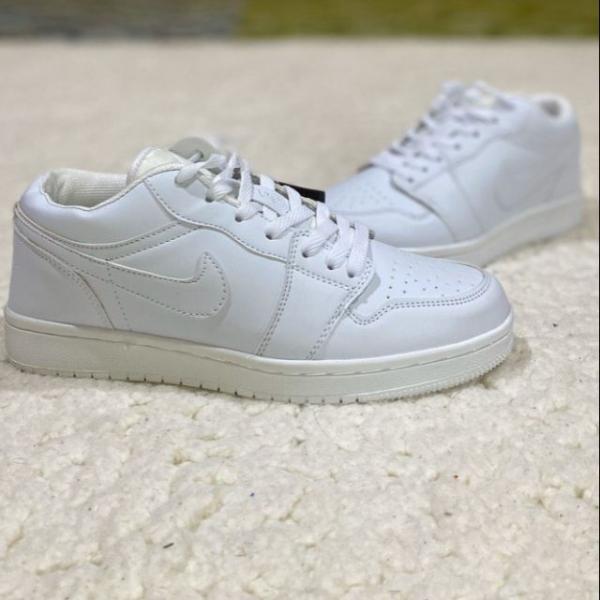 Nike Air Jordan All White Casual Shoes Sneakers - 41-45 EURO