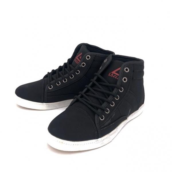 LA CLUB Women\'s Black Hight Cut Sneakers 1018L