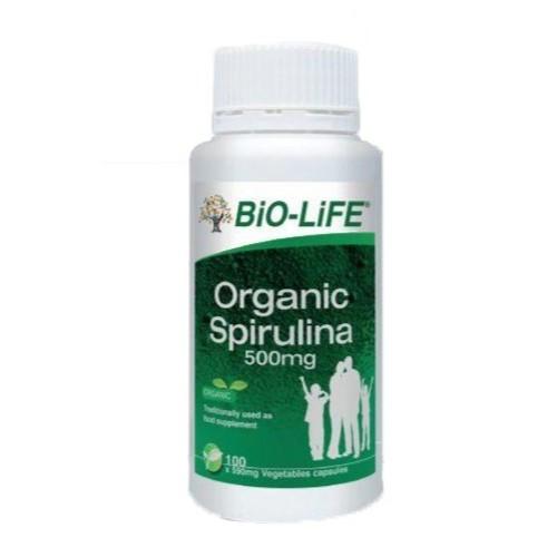 Biolife Organic Spirulina 500mg 100's / 2x100's