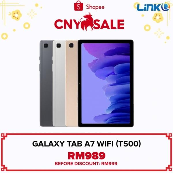 Samsung Galaxy Tab A7 Wi-Fi 3GB + 32GB Tablet (T500) - Original 1 Year Warranty by Samsung Malaysia