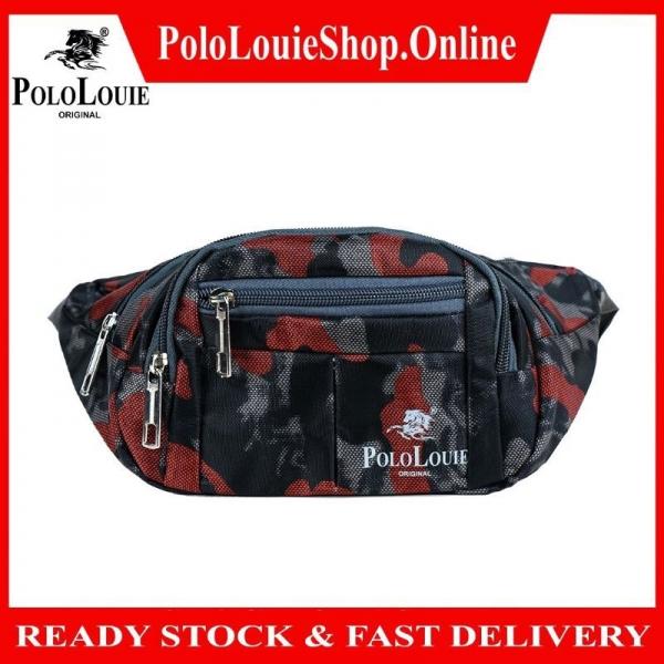 Original Polo Louie Men Women Colourful Waist Bag Crossbody Bag Sling Bag Man Pouch Beg