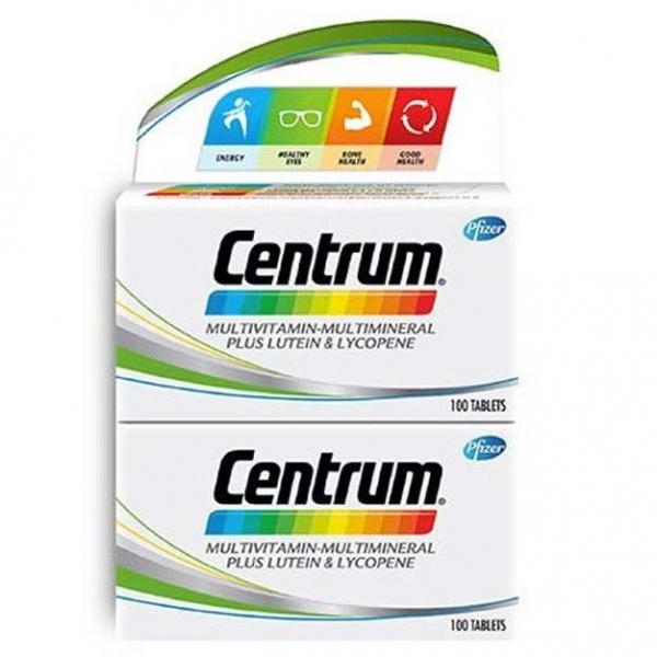 [230's]Centrum Multivitamin-Multimineral plus Lutein & Lycopene 2x100's+30's