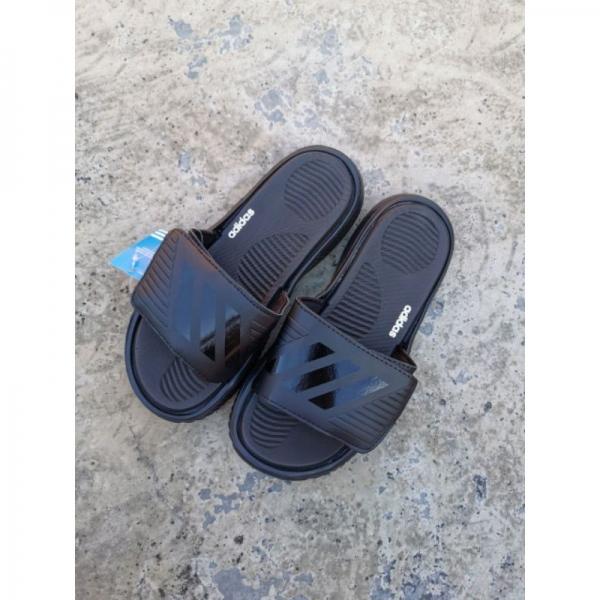 Adidas Bounce Slide Men\'s Casual Slippers Black - 40-45 EURO