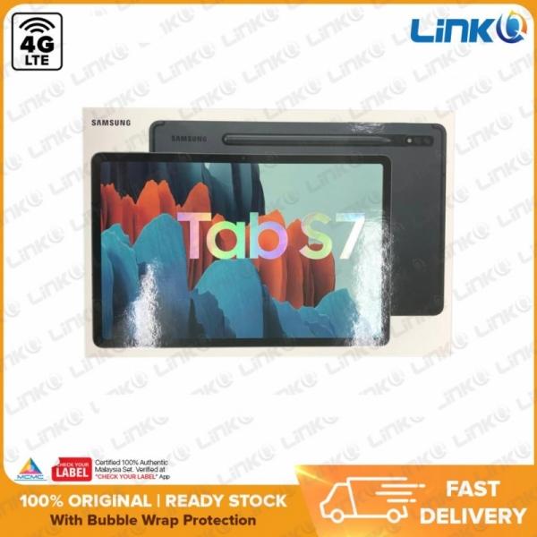 Samsung Galaxy Tab S7 LTE 4G 6GB + 128GB Tablet (T875) - Original 1 Year Warranty by Samsung Malaysia