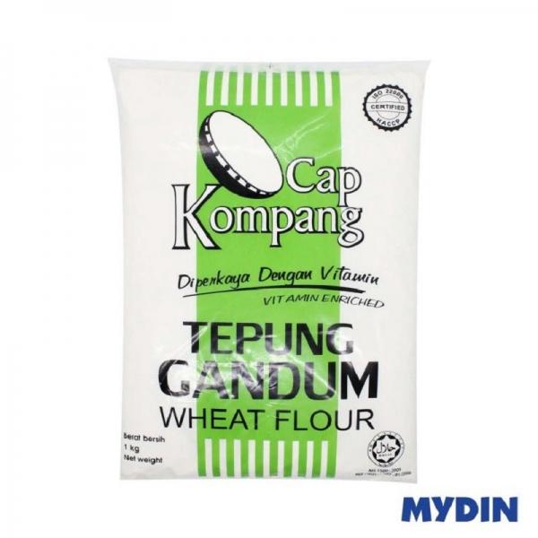 Cap Kompang Wheat Flour 1kg