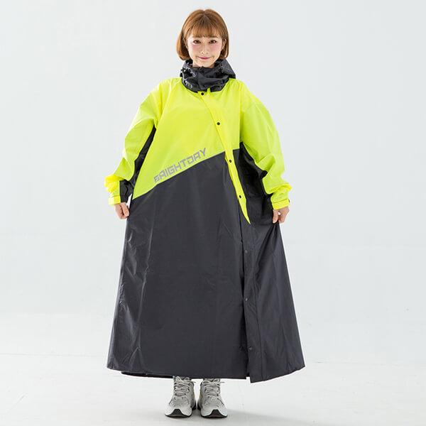 (君邁)BrightDay-X Samurai Slanted Tights - Fluorescent