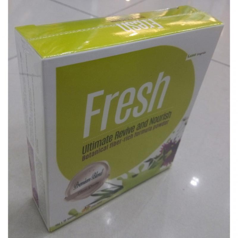 Lang Bragman Fresh 16g Powder Per Sachet, 10 Sachets Per Box - Botanical Fiber-Rich Formula Powder, Kaya Serat