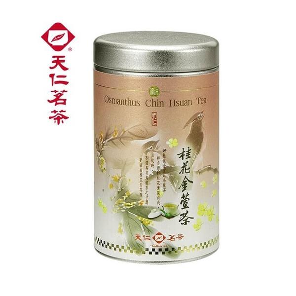 【天仁茗茶】 桂花金萱茶 100g
