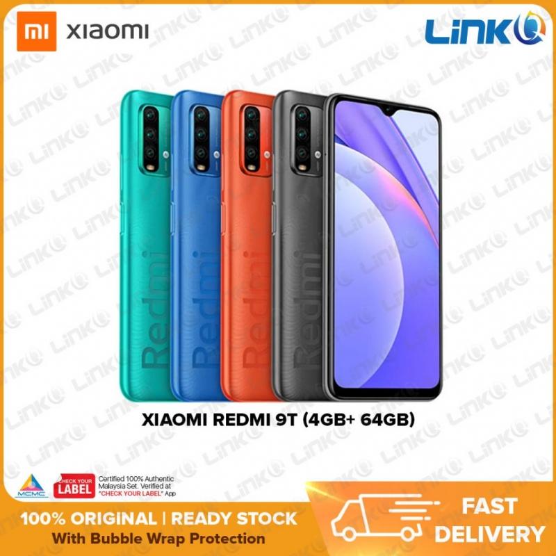 Xiaomi Redmi 9T (4GB RAM + 64GB ROM) Smartphone - Original 1 Year Warranty by Xiaomi Malaysia (MY SET)